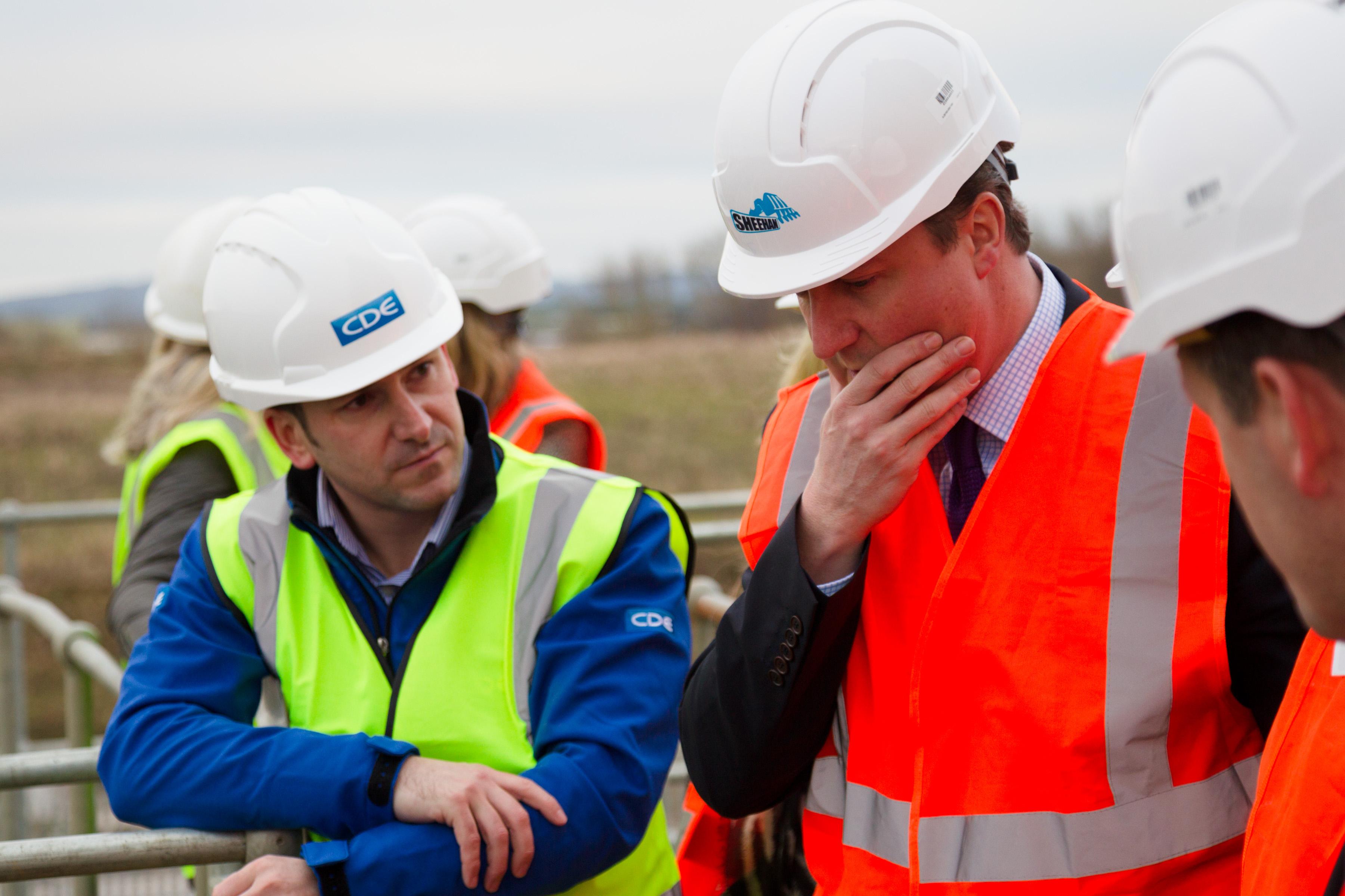 Brendan McGurgan and David Cameron
