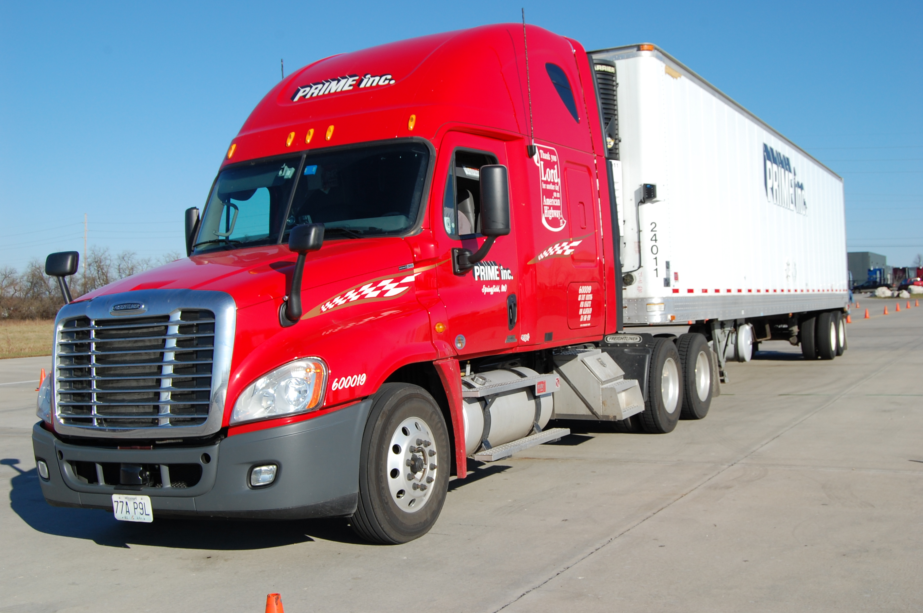 Prime trucking co submited images