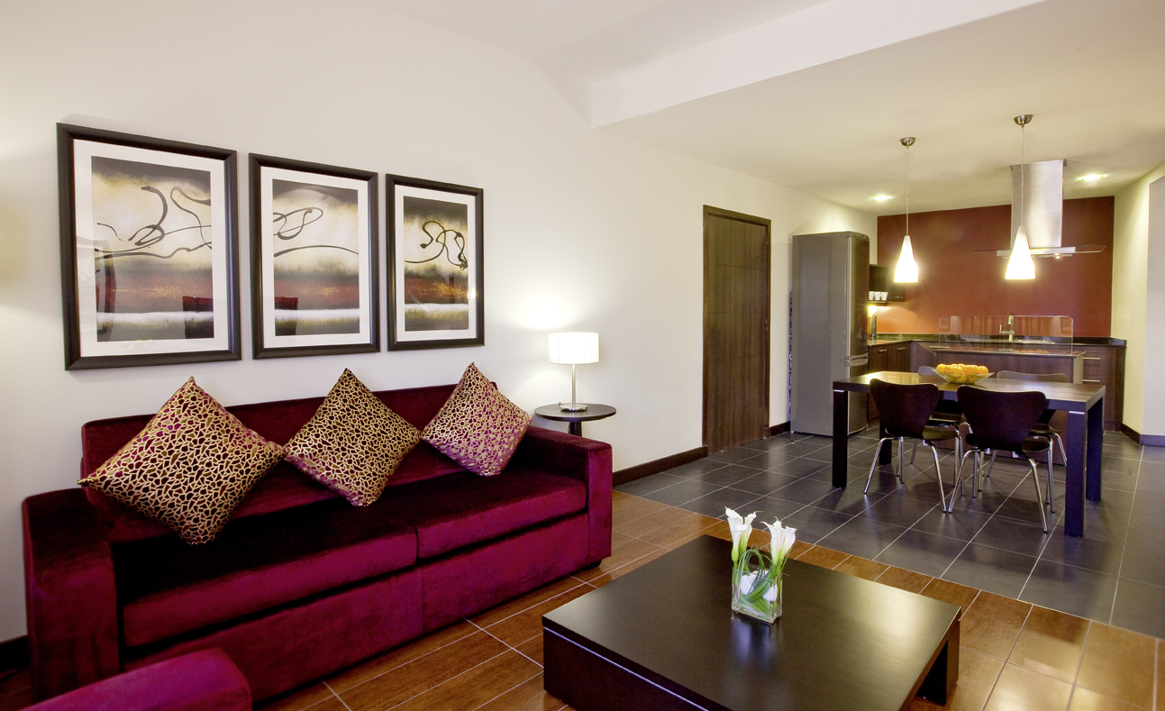 Spacious One Bedroom Suite- Mövenpick Hotel Apartments The Square Dubai