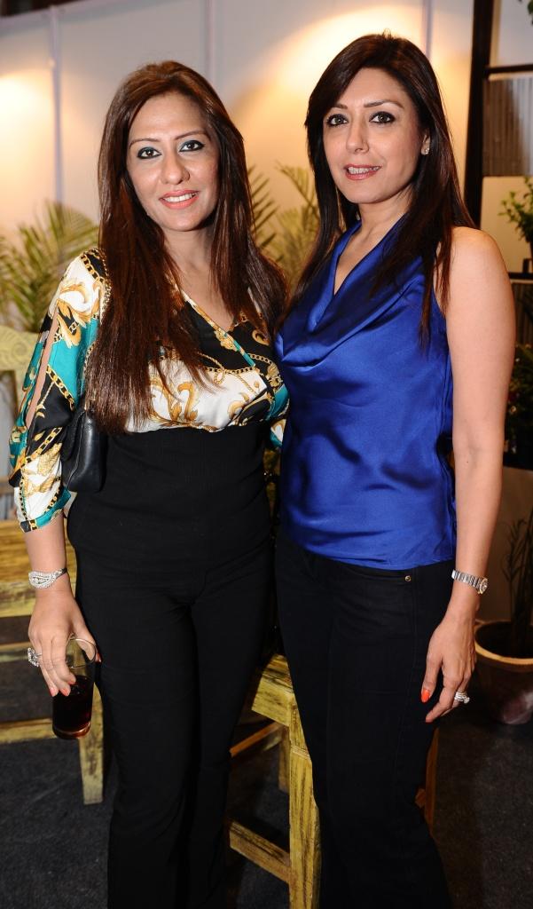 Neera Bhatnagar and Seema Puri