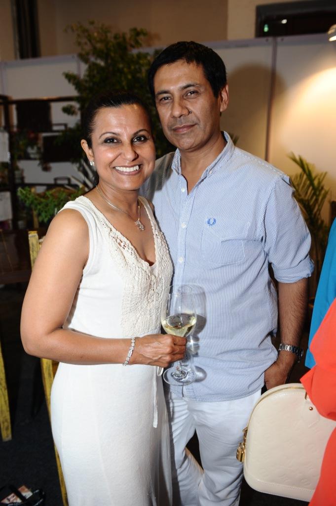 Rashmi and Sanjay Virmani