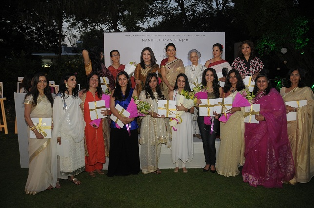 20 Power Women With Mrs. Badal & Ritu kumar at the launch event of Woman-The Real Jewel-a tribute to Nanhi Chaan's wo_