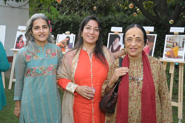 Anju Ela Menon with Freinds at the launch event of Woman-The Real Jewel-a tribute to Nanhi Chaan's woman empowerment _