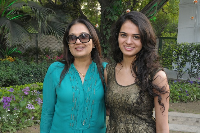 Anju & Tanya Sachdev at the launch event of Woman-The Real Jewel-a tribute to Nanhi Chaan's woman empowerment initiat_
