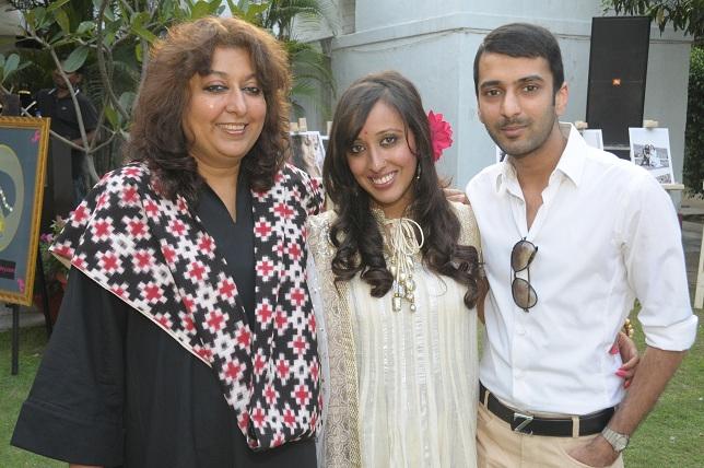 Madhu jain Awantika & Vinayak Jain at the launch event of Woman-The Real Jewel-a tribute to Nanhi Chaan's woman empow_