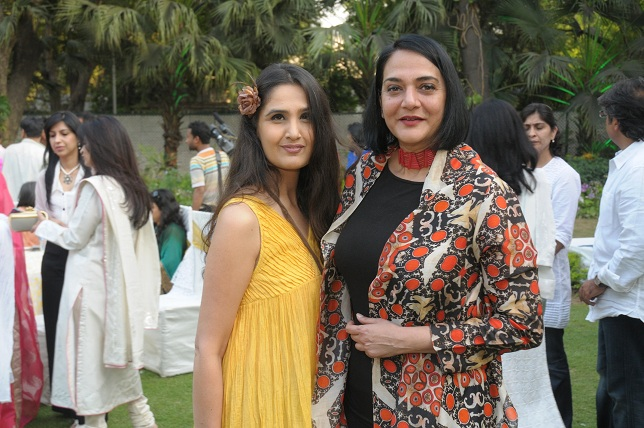Monisha Bajaj & Poonam Bhagat at the launch event of Woman-The Real Jewel-a tribute to Nanhi Chaan's woman empowermen_