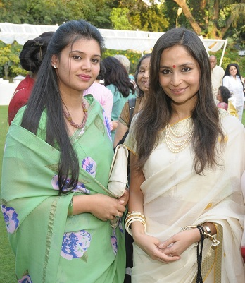 Mrs. Megha kalikesh Deo & Shalu Jindal at the launch event of Woman-The Real Jewel-a tribute to Nanhi Chaan's woman e_