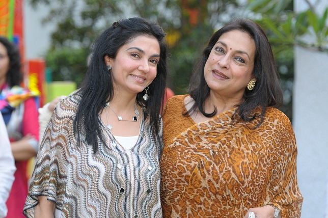 Neeva Jain & Naina Balsawar Ahmed at the launch event of Woman-The Real Jewel-a tribute to Nanhi Chaan's woman empowe_
