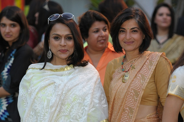 Raseel Gujral & Ambika Shukla at the launch event of Woman-The Real Jewel-a tribute to Nanhi Chaan's woman empowermen_