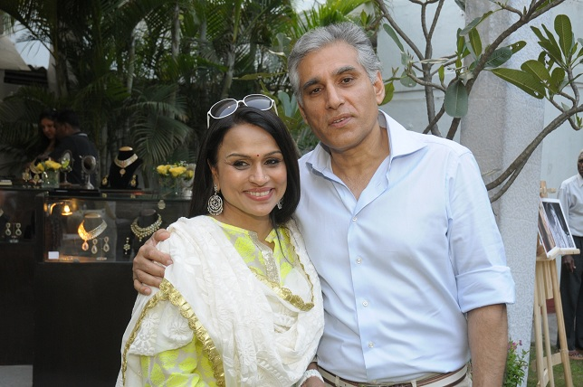 Raseel & Navin Ansal at the launch event of Woman-The Real Jewel-a tribute to Nanhi Chaan's woman empowerment initiat_