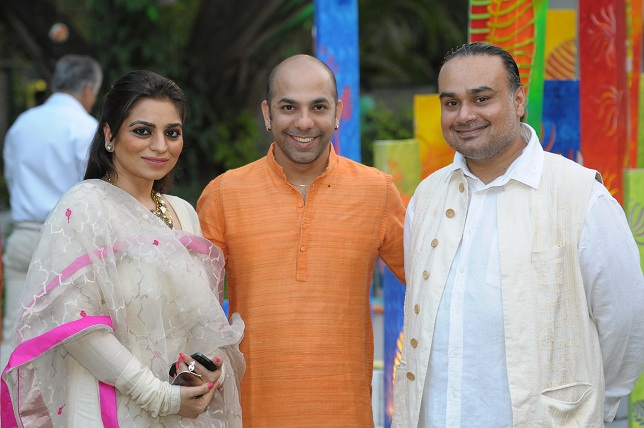 Rimple Narula  Mayyur Girotra & Harpreet Narula at the launch event of Woman-The Real Jewel-a tribute to Nanhi Chaan'_