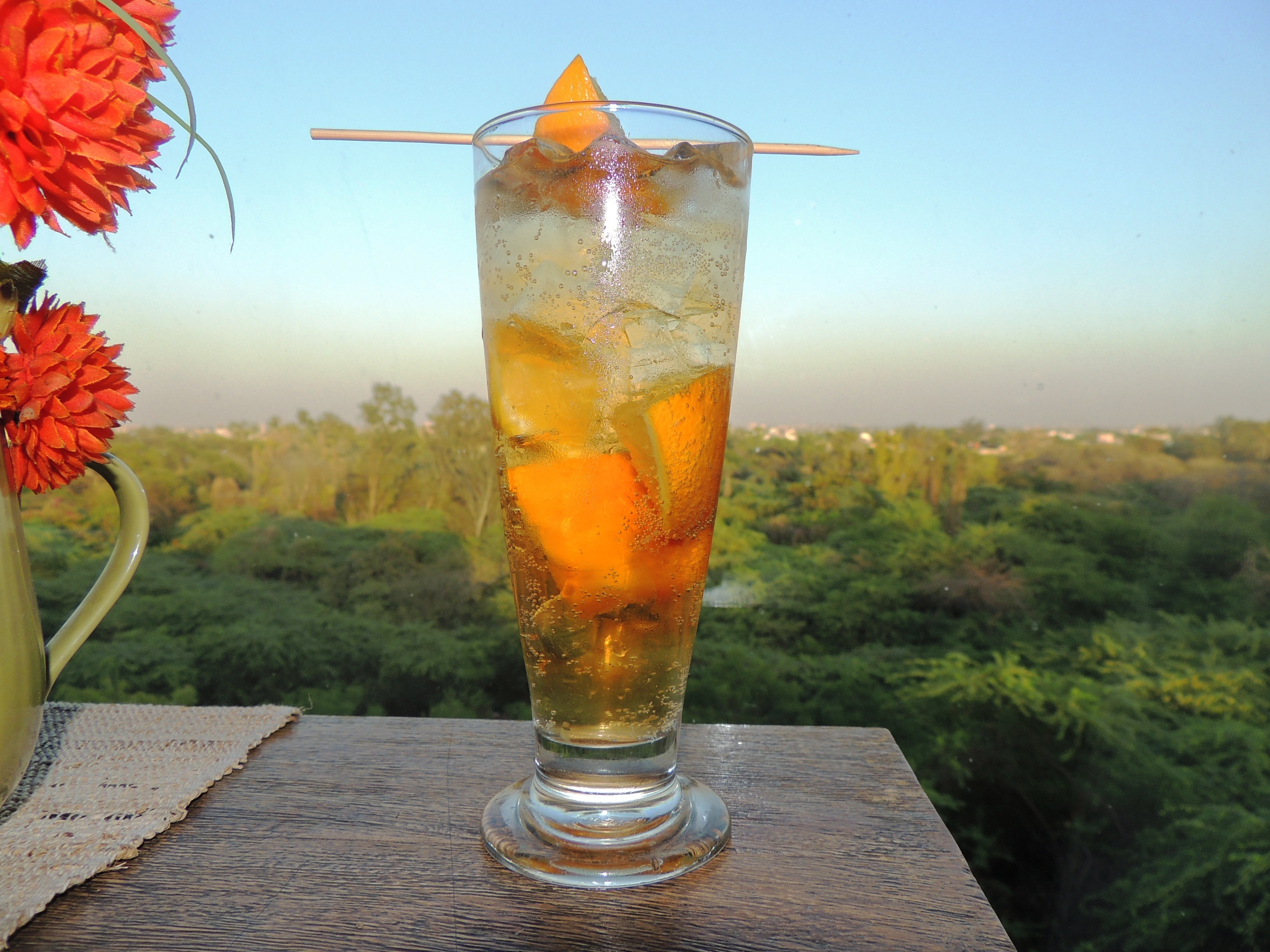 Scotch  Orange and Gingerale Cooler