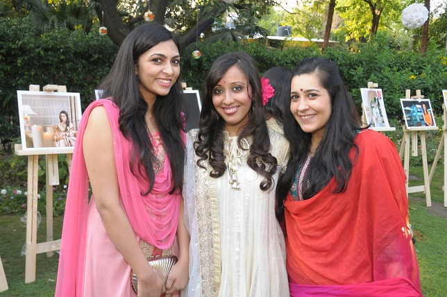 The 3 Photographers Kriti Bisaria Awantika & Akshiena Khanna  at the launch event of Woman-The Real Jewel-a tribute t_