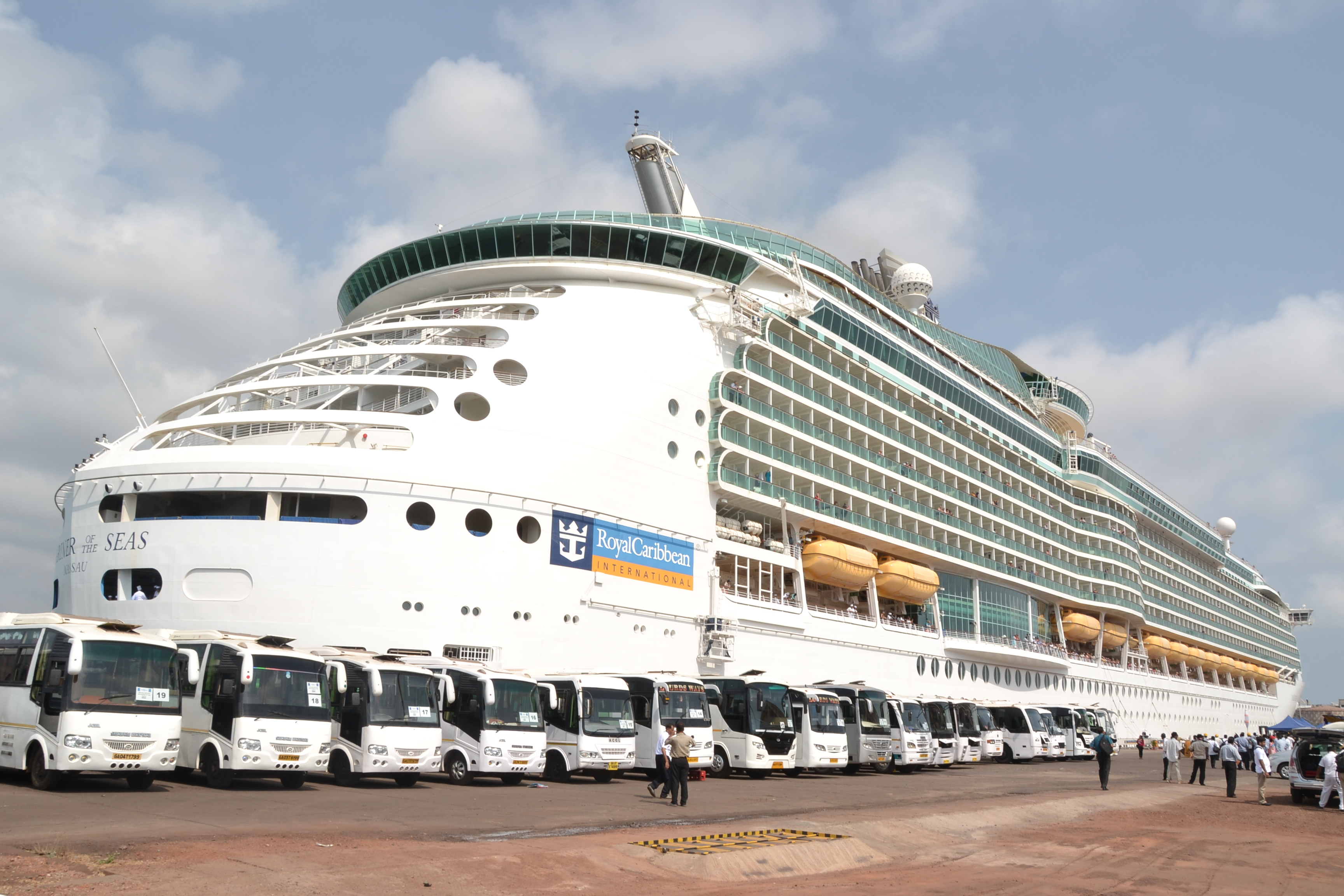 Goa Welcomes One Of The Worlds Biggest Cruise Liner