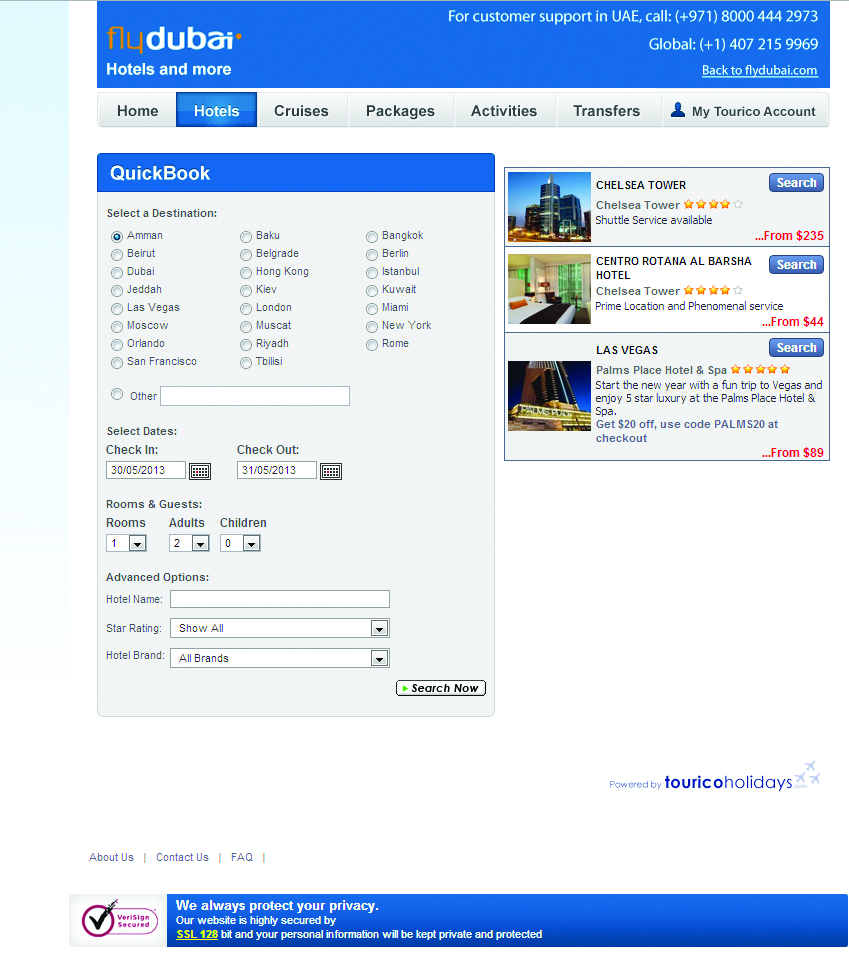 Flydubai Travel Packages