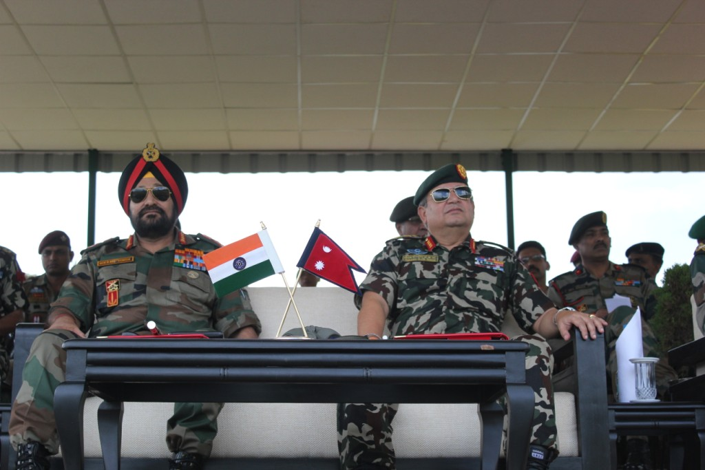 Nepal Army vs Indian Army Indian Army Chief General