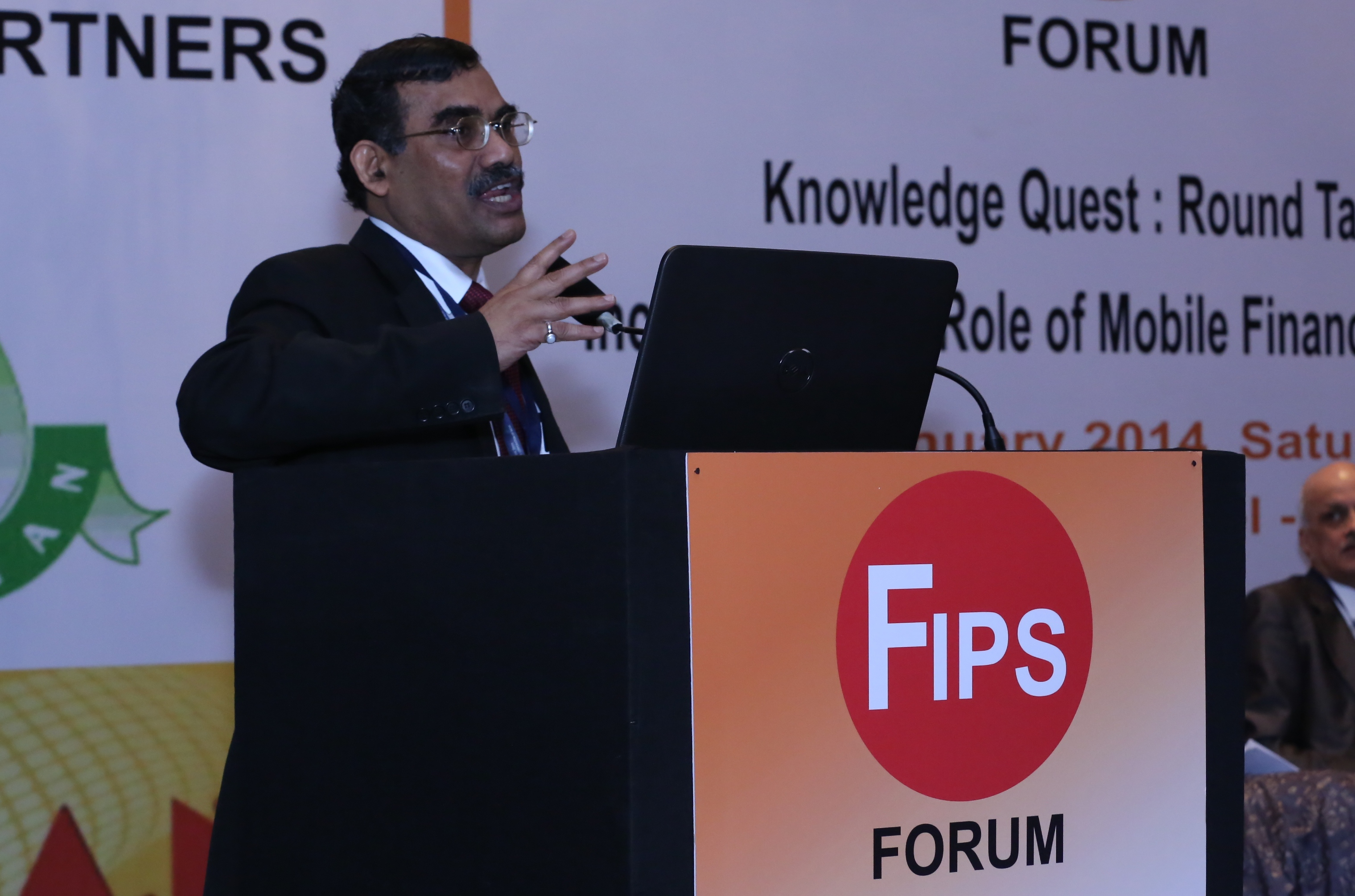 A K Hota CEO NCPI at FIPS FORUM
