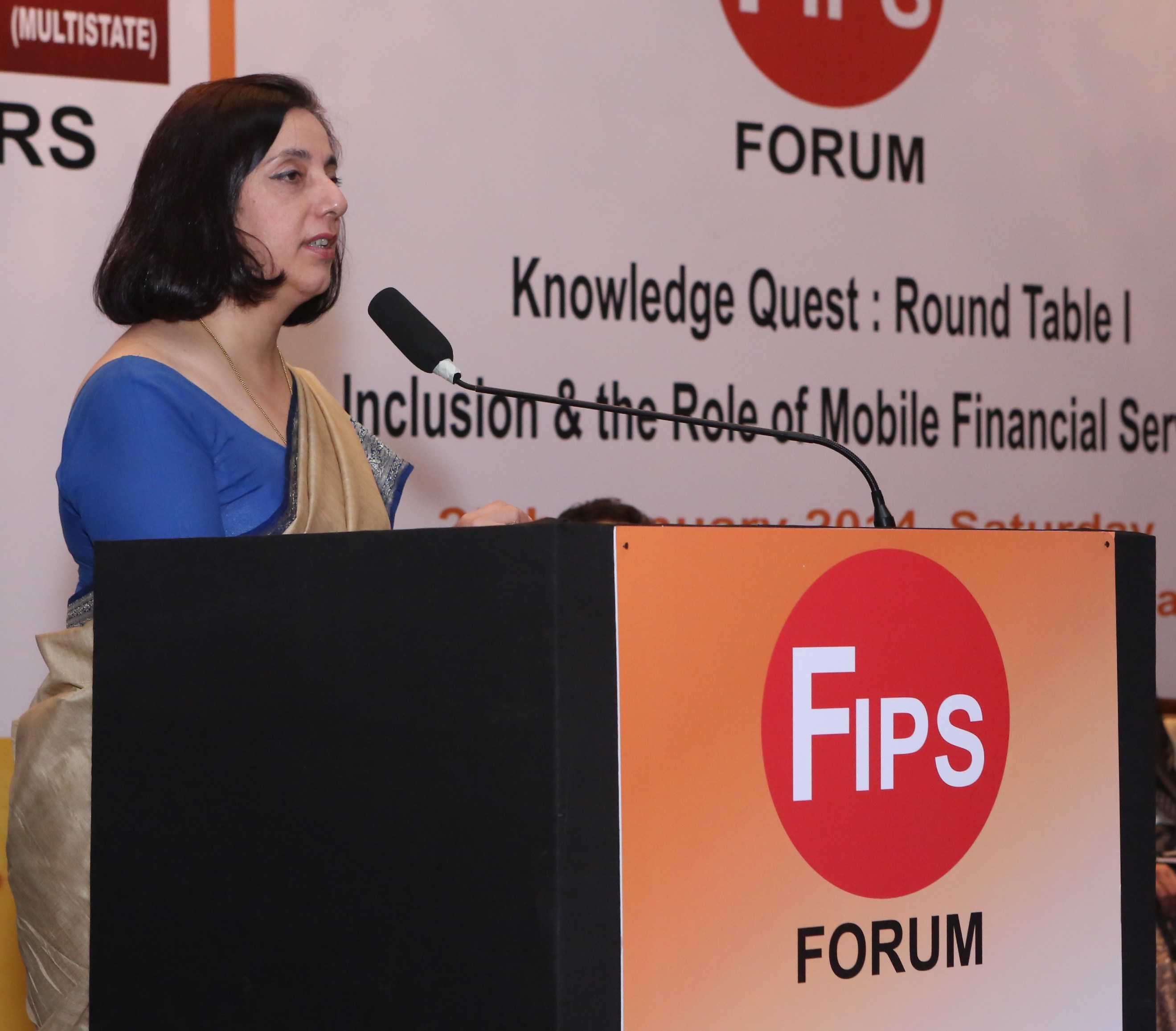 Meera Sanyal- Former Chairperson RBS @FIPS Forum