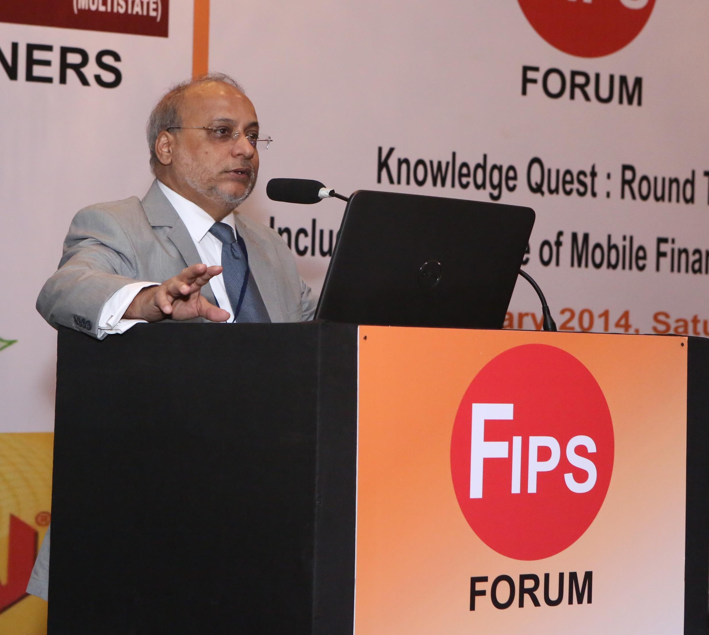 Santanu Sengupta  Convenor  FIPS Forum