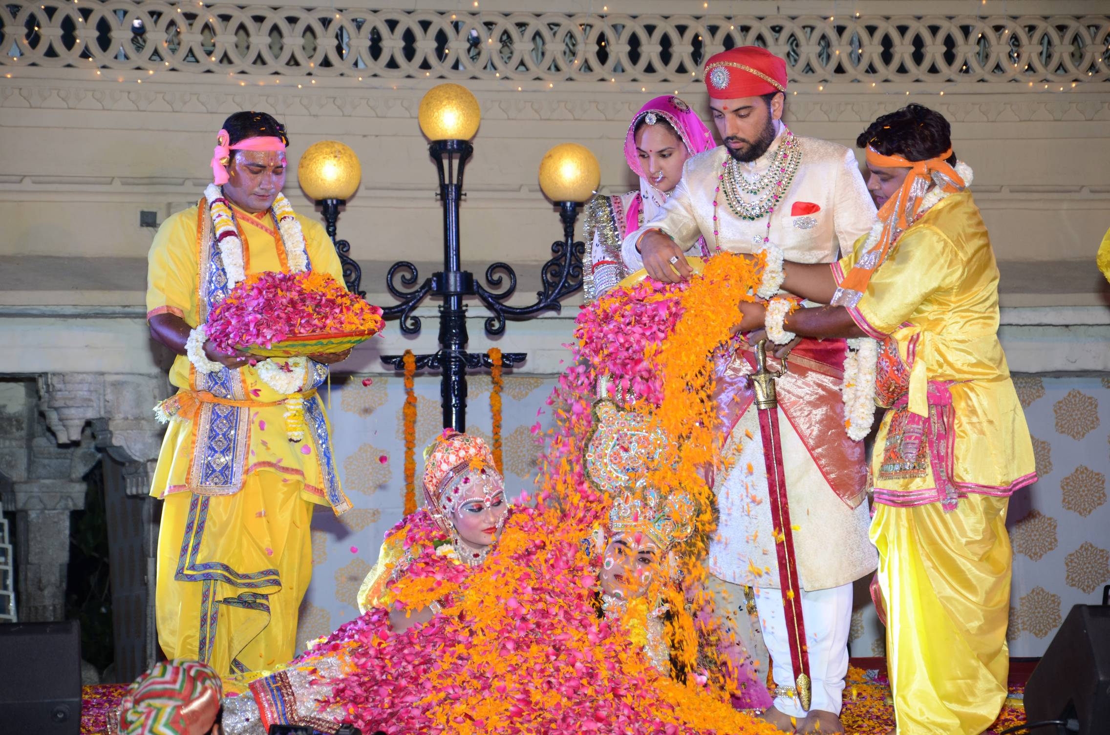 Padmaja kumari mewar wedding