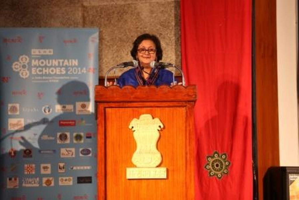 Festival Director  Namita Gokhale addresses the audience_1600x1068