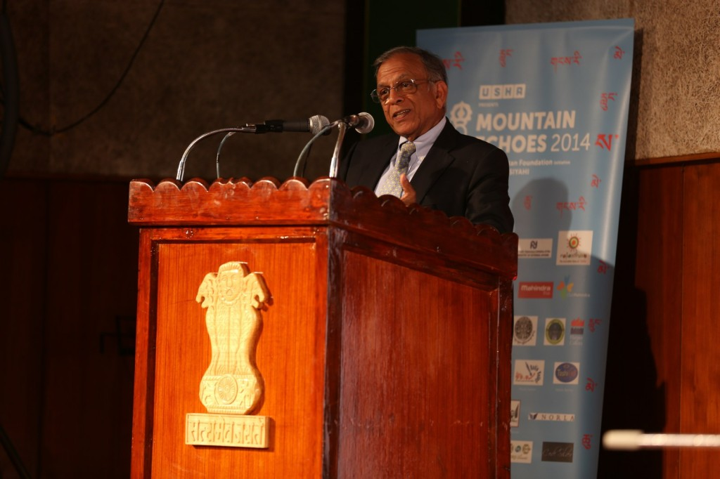 USHA Chairman  Mr. Siddharth Shriram at the addressing the audience_1600x1067