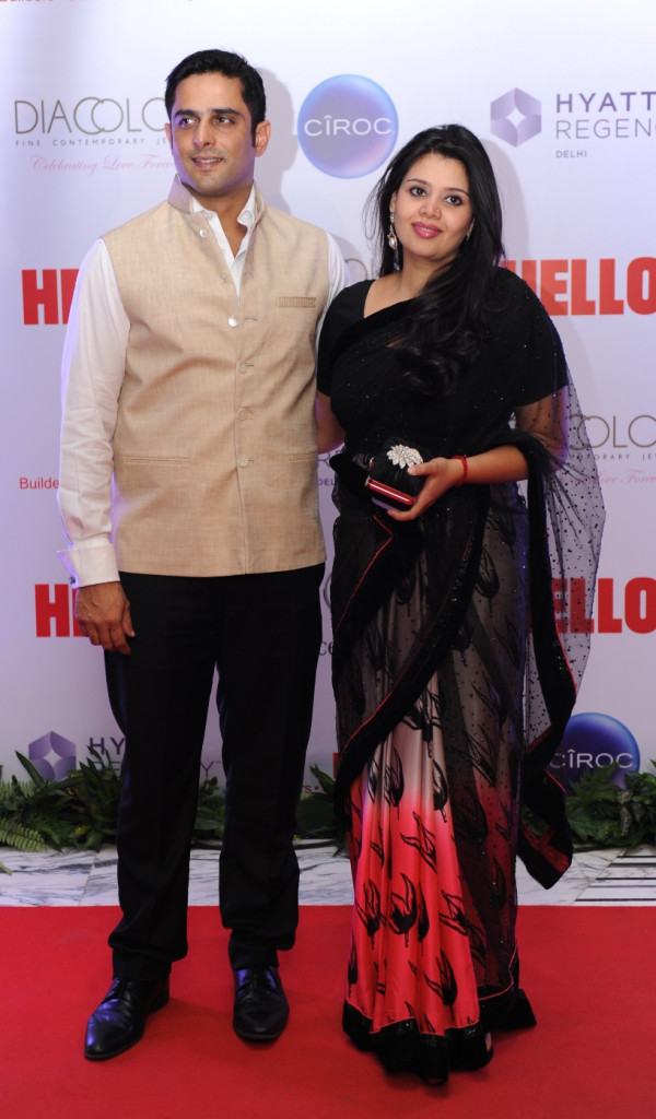 Kalikesh and Meghna Singh Deo