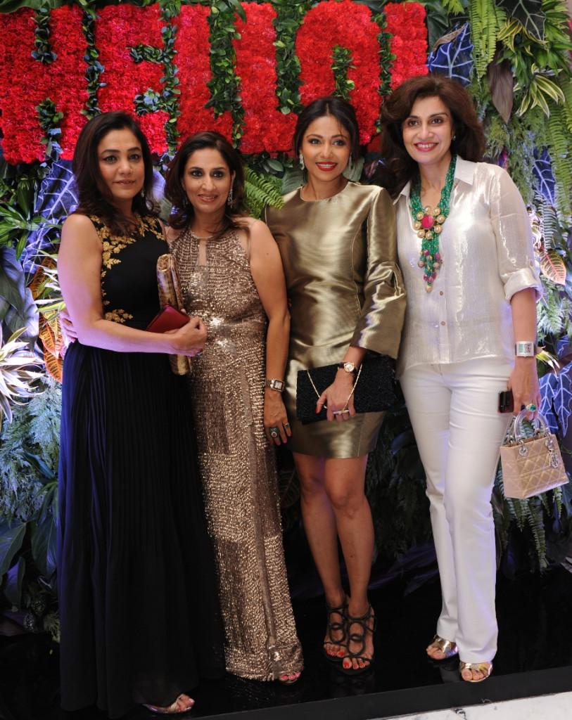 Seema Kilachand  Hello! Editor Ruchika Mehta  Kalyani Chawla and Pav Kapoor