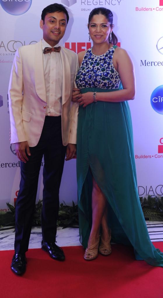 Vikram Baidyanath with Pushpanjali Sharma