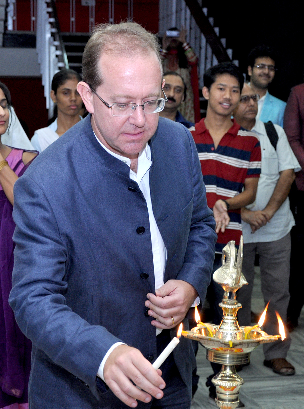 Michael Pelletier  Deputy Cheif of Mission in India from US