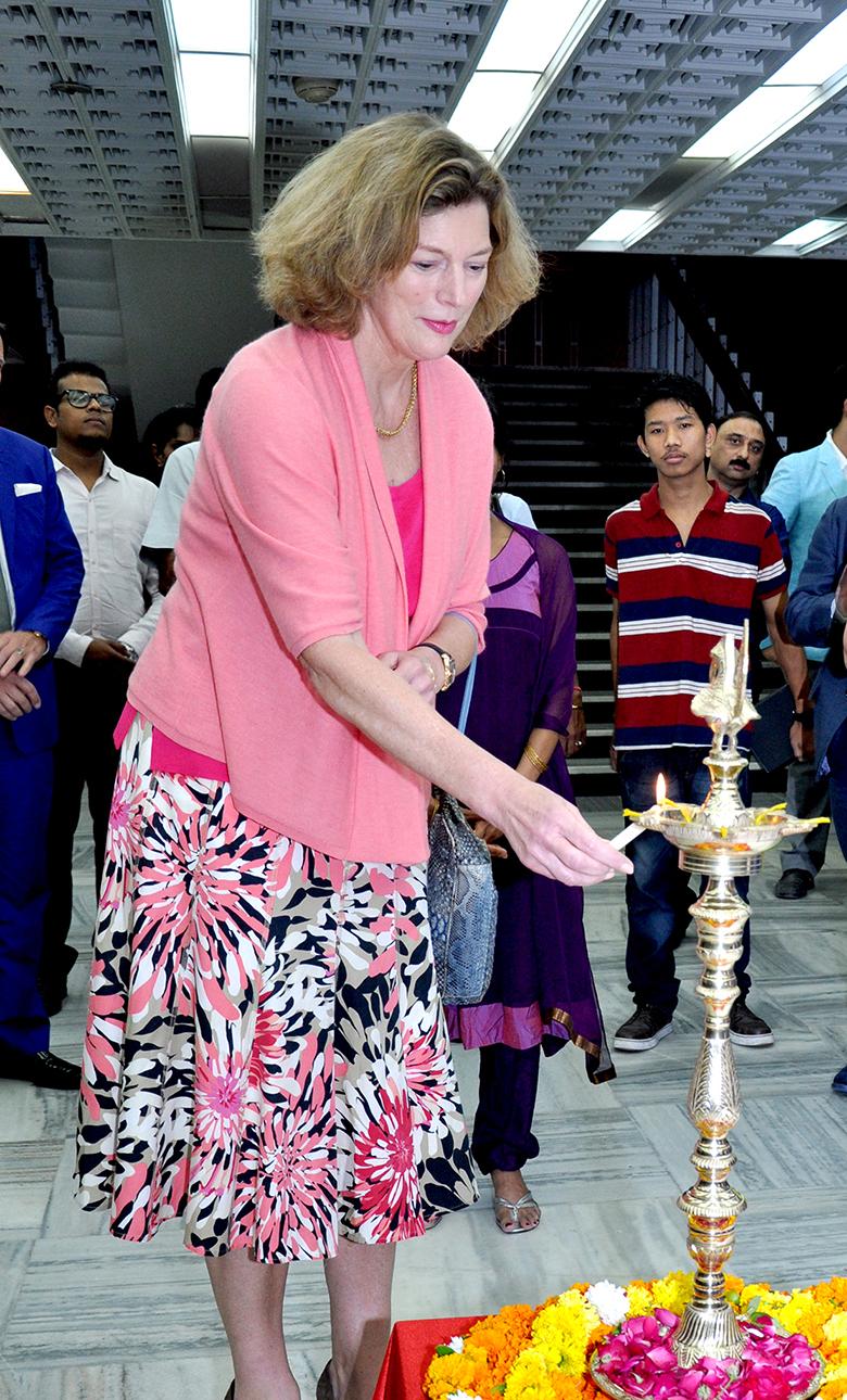 US Ambassador Kathleen Stephens