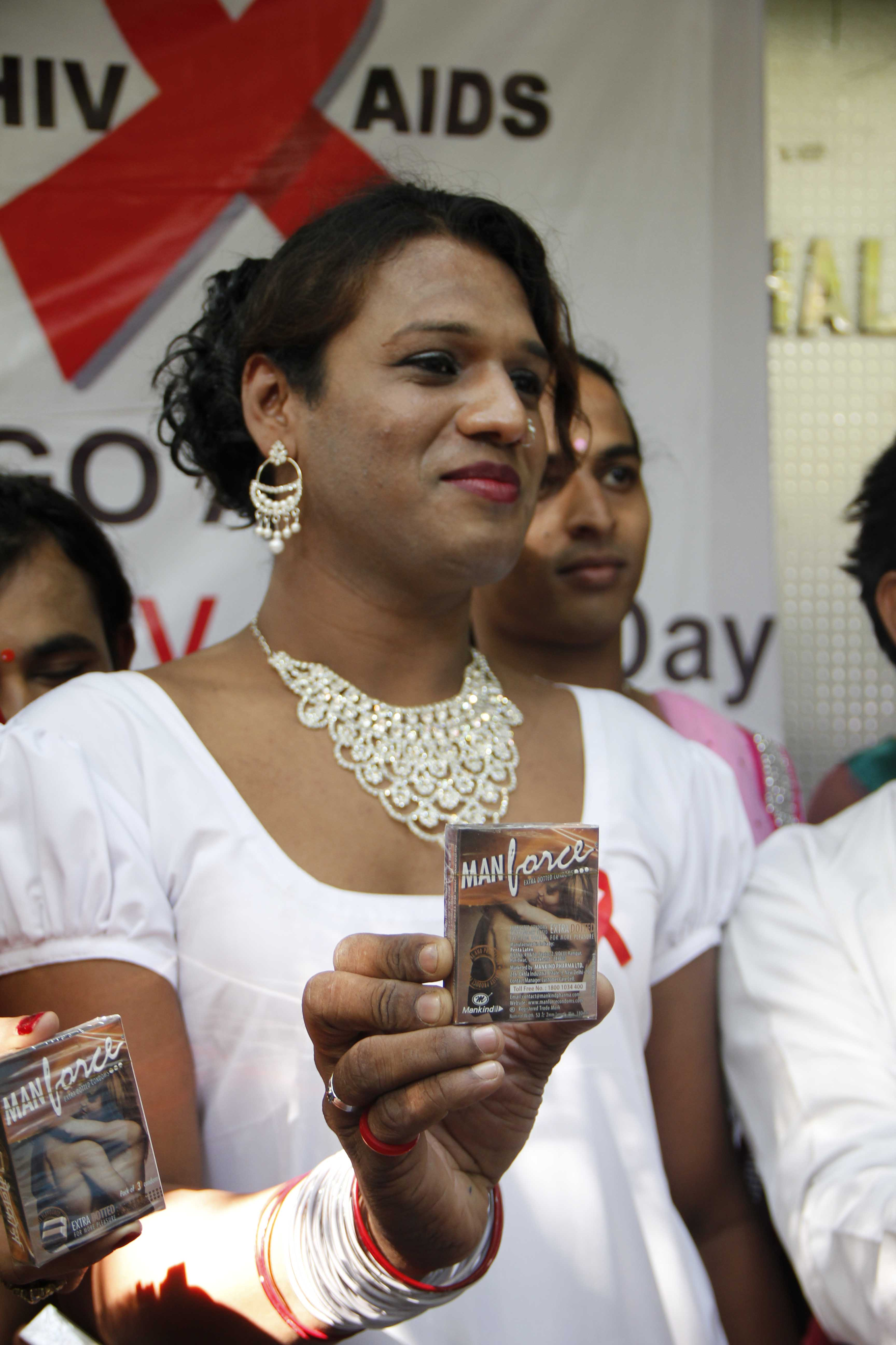 Amrita At World AIDS Day Event