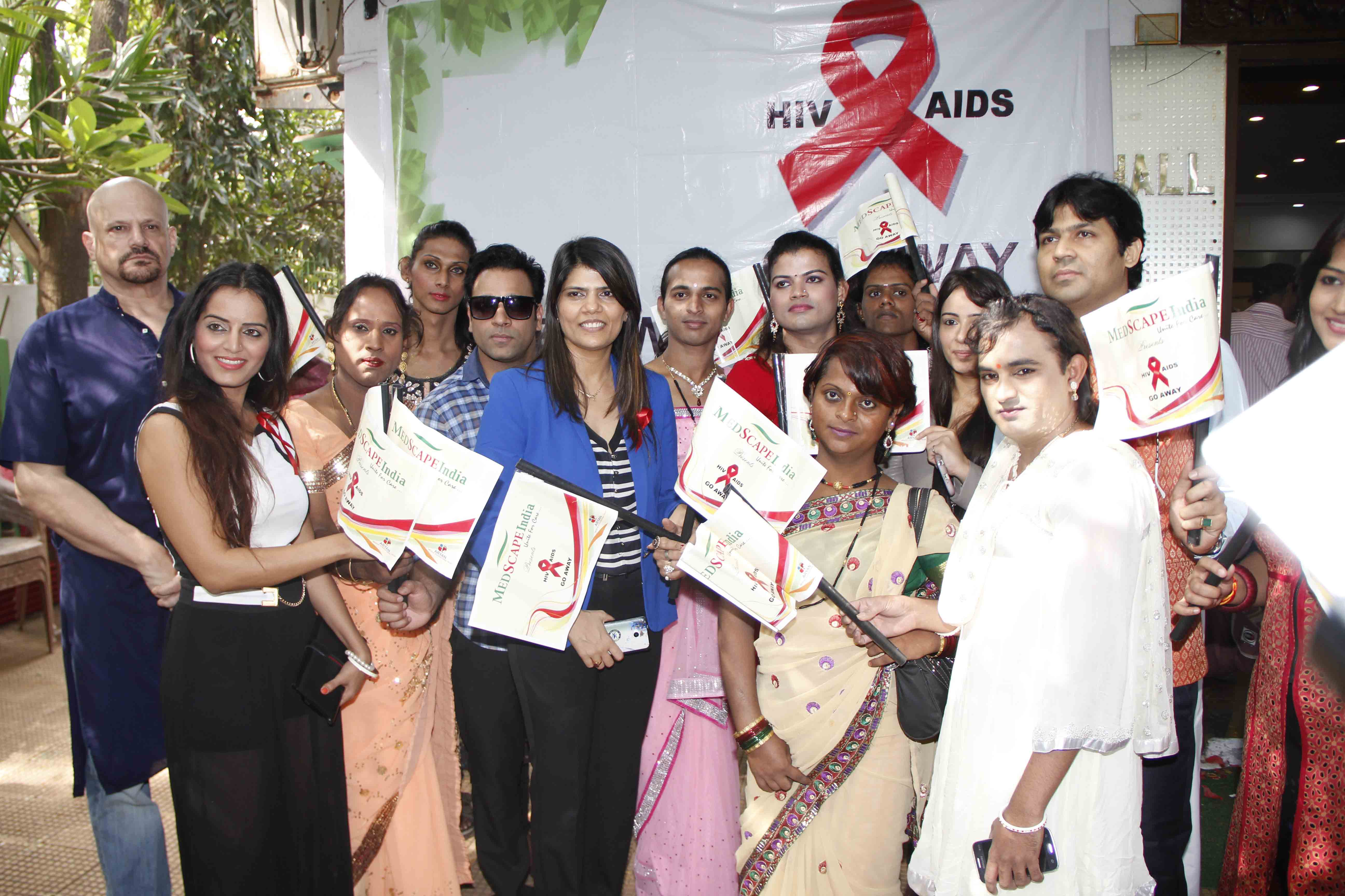 Enunh At World AIDS Day Event