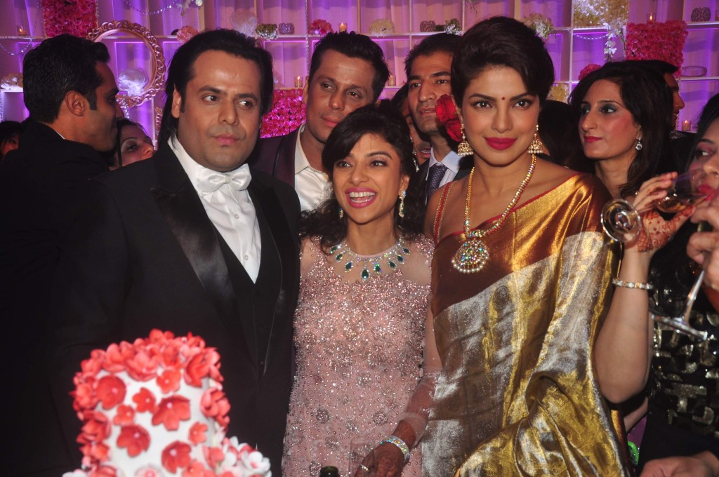 Priyanka Chopra at Uday Singh and Shirin recepetion Party3