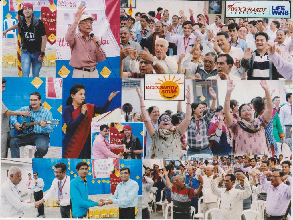 Wockhardt Hospitals employees and nursing staff participated with full enthusiasm and spread the message of smile thr_