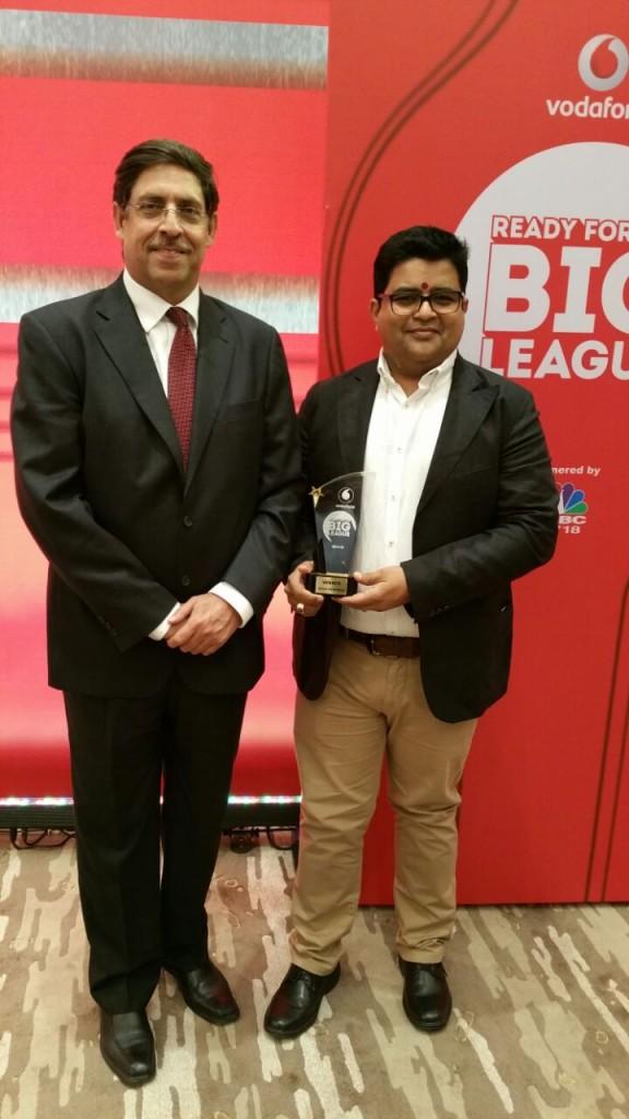 Naveen Chopra  director  Vodafone business services & Sanjeev Gupta  Managing Director  Global Advertisers at at Hote_