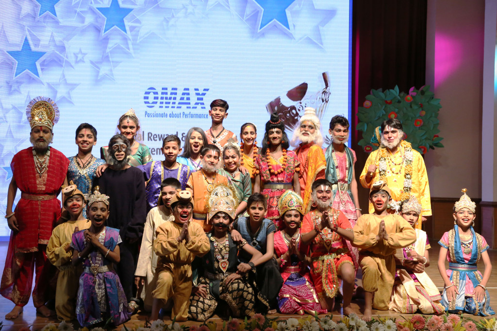 Children at the Saksham Programme