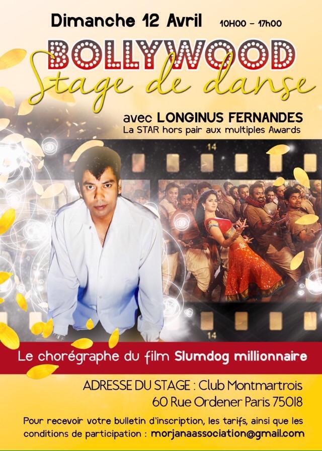 Choreographer Longinus Fernandes in Paris