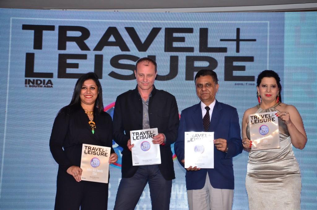 Ms Ruchira Bose  Editor T+L; Mr Simon Clay  Publishing Director; Mr Lalit Panwar  Secretary Tourism  Gvt. Of India; M_