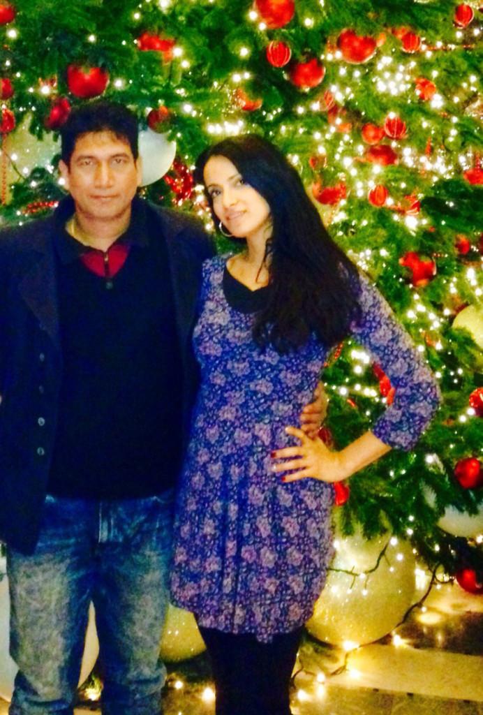 Satish Reddy With Amelia