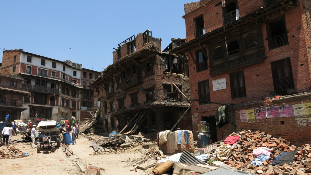 Earthquake Disaster in Nepal 1 (2)5