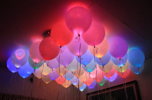 Led & Glow Ballons(Pack of 5) Rs.199