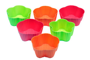 Muffin Moulds(Pack of 6) Rs.225