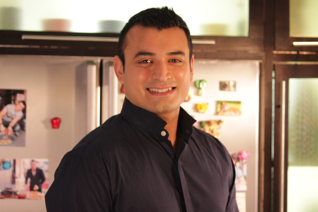 Rishi Desai on TLC's Stay Home Chef