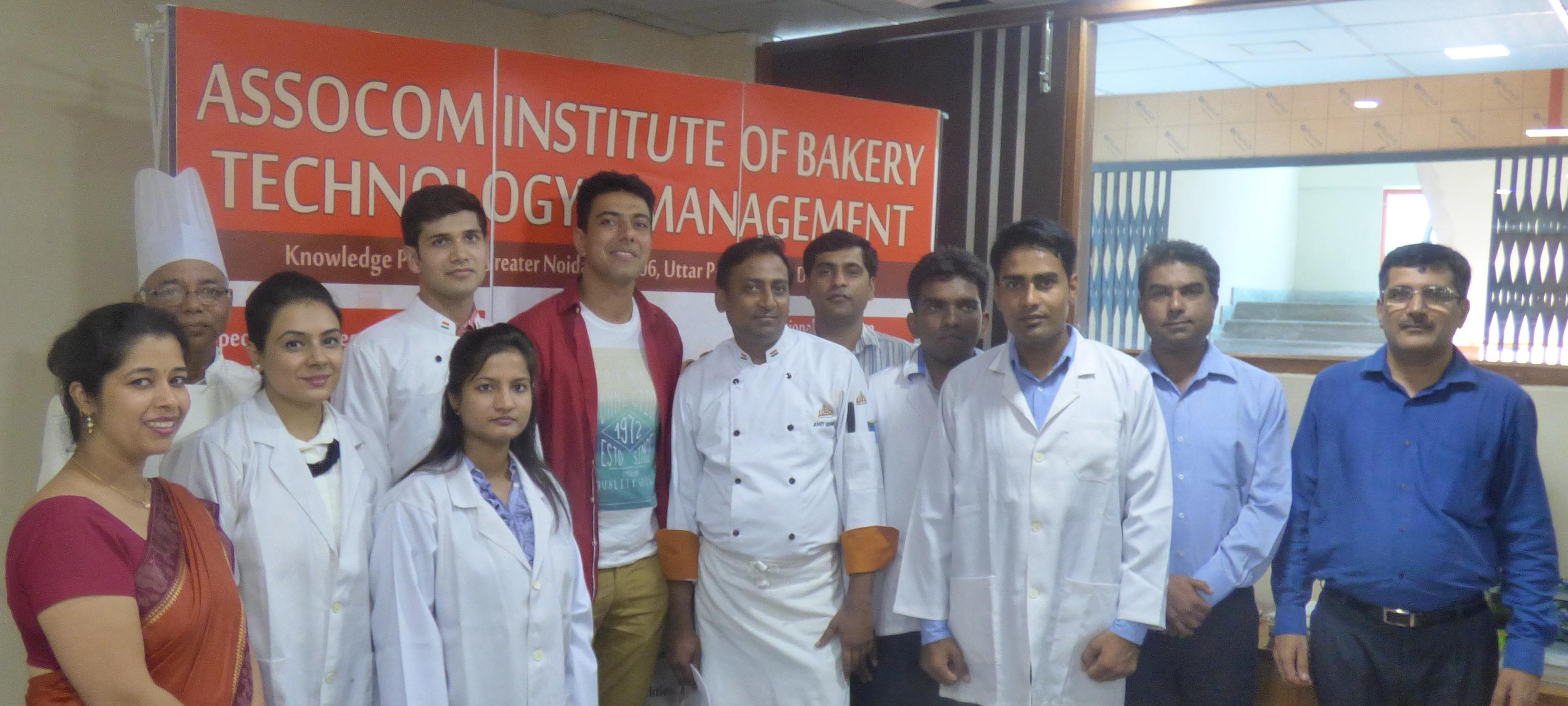 AIBTM Staff with Celebrity Chef Ranveer Brar