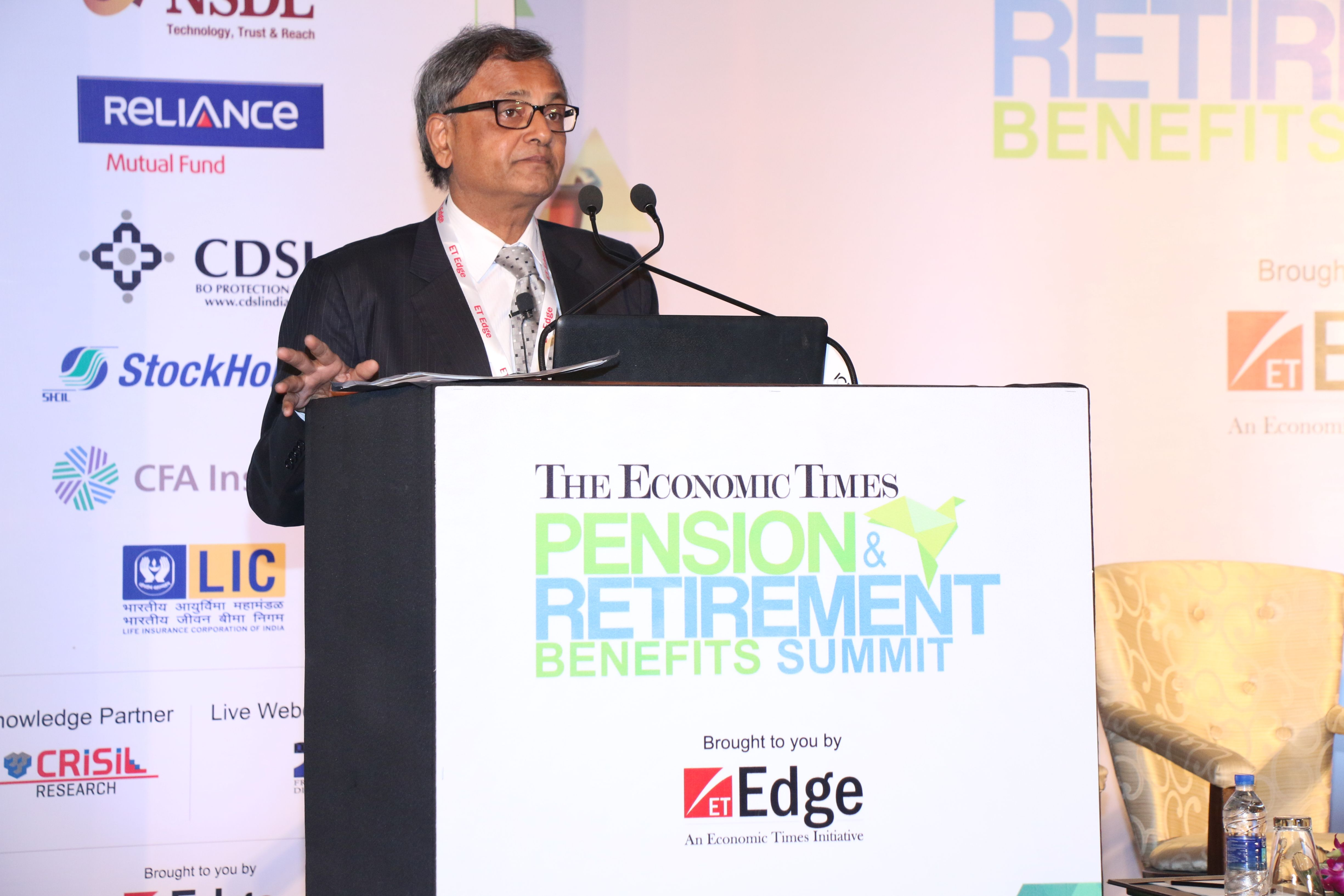 Hemant Contractor  Chairman  Pension fund Regulatory and Development Authority