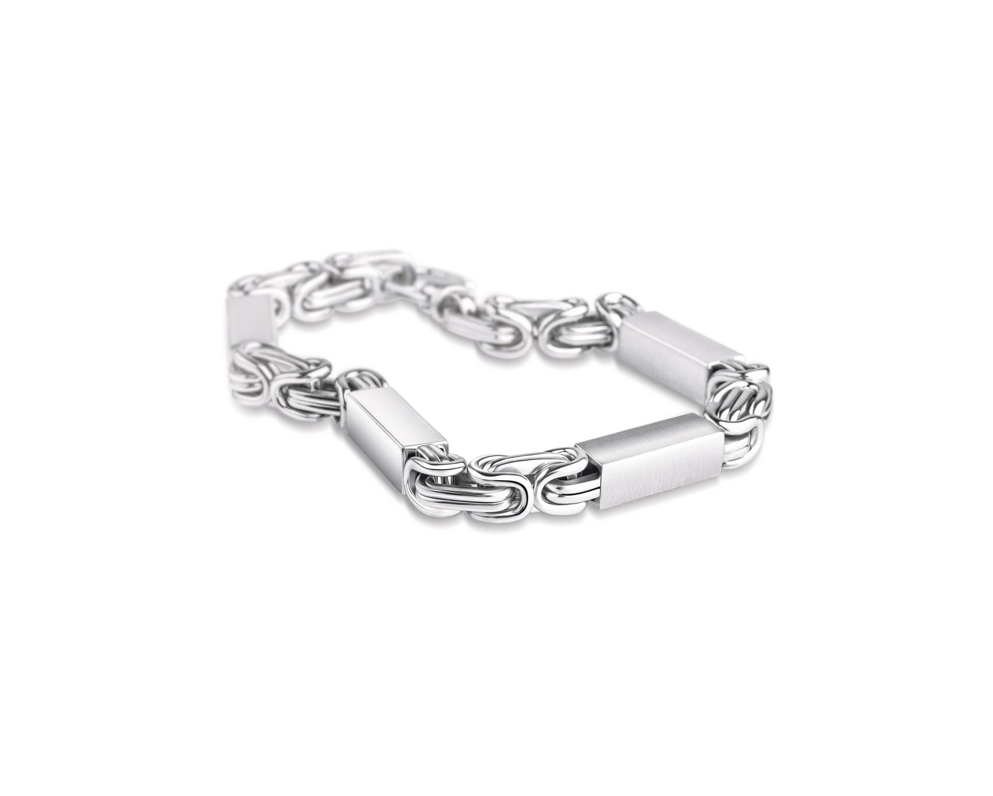 Gift your Dad the wondrous metal Platinum by Senco Gold ... Platinum Bracelets For Men
