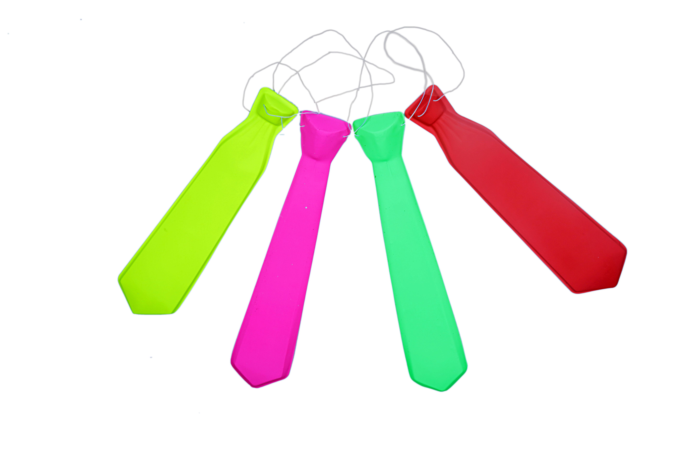 Neon Long Tie Rs.250