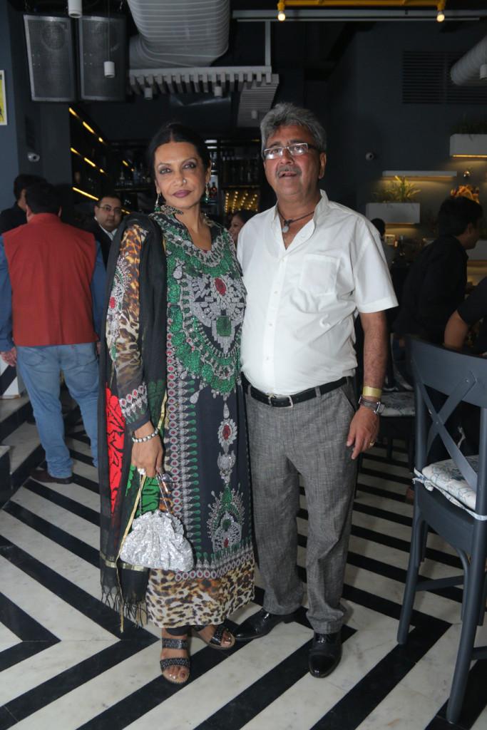 Artist Anjanna Kuthiala and Rajneesh Kuthiala