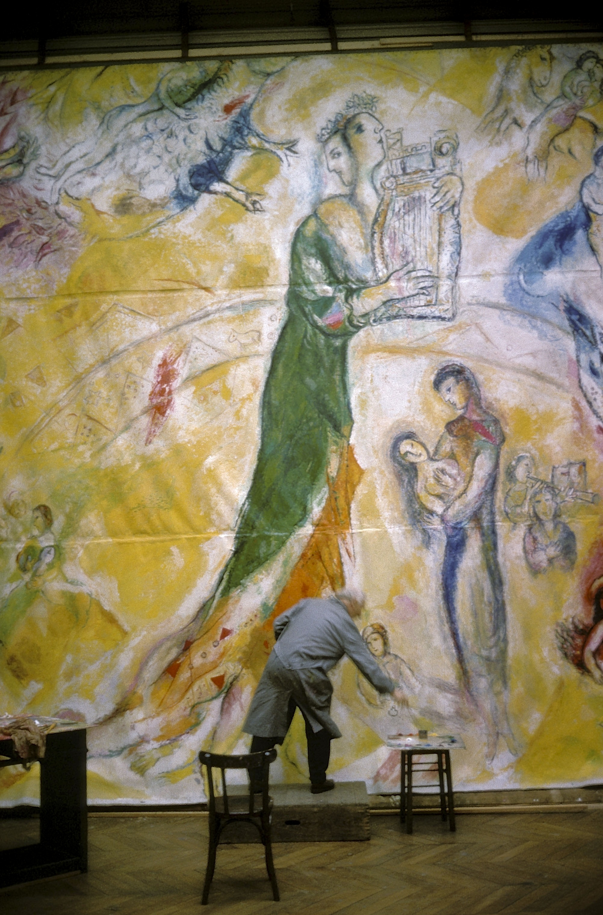 Revealed by sofitel comes to china a photo exhibition for Chagall peintre